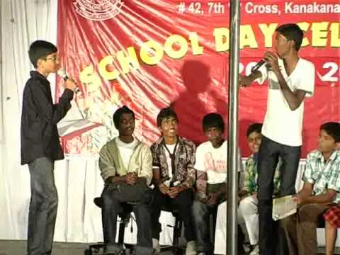 Jokes Skit - class 7 and 8 - Little Angels Public School Annual Day 2010-2011