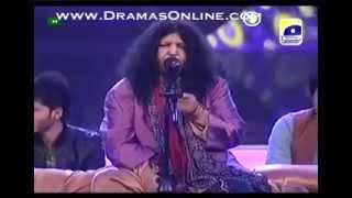 Abida Parveen in Pakistan Idol singing ghoom charakhra