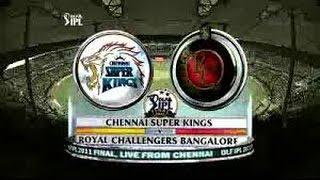 Recap of DLF IPL 2011 Finals CSK vs RCB