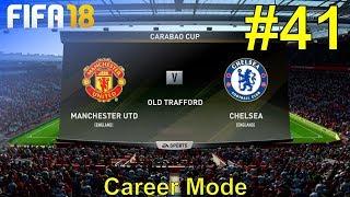 FIFA 18 - Manchester United Career Mode #41: vs. Chelsea