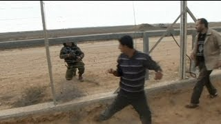 Israeli troops kill Palestinian on the Gaza border