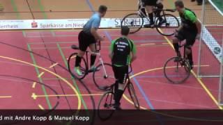 Endspiel Deutsche Meisterschaft 2016 Radball in Moers
