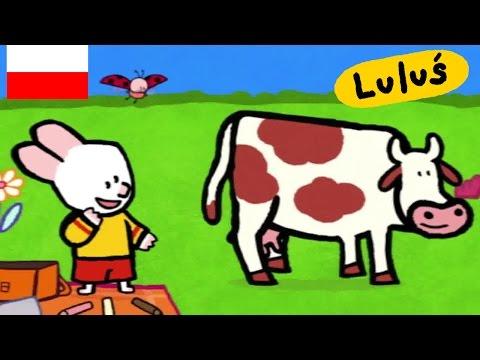 Luluś Narysuj mi krowę S01E20 HD Kreskówki dla dzieci