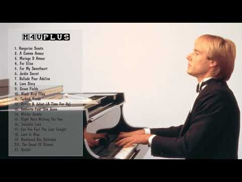 Richard Clayderman Greatest Hits Best Songs Of Richard Clayderman Richard Clayderman Playlist