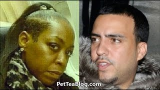 Pam from Martin BLASTS French Montana for Reposting MEME #ThrowbackThursday 2014