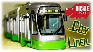 TRAMS FOR CHILDREN VIDEO: Dickie Toys Tram City Liner Toy Review