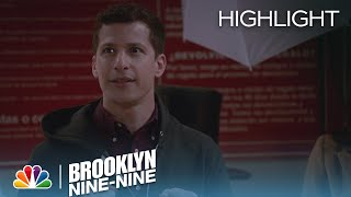 Jake Assess The Situation While Trapped | Season 3 Ep. 10 | BROOKLYN NINE-NINE