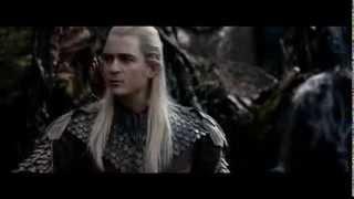 The Hobbit The Desolation Of Smaug: Mirkwood Elves Capture The Dwarves HD