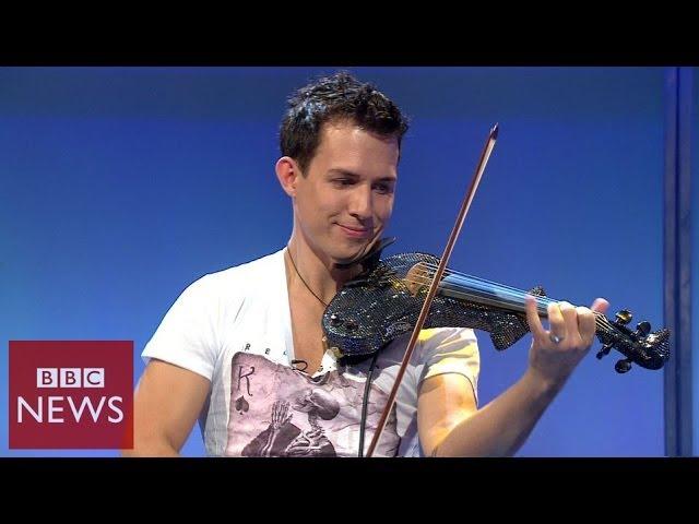 Fastest violinist in the world - BBC News
