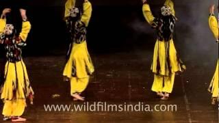 A flawless dance performance by Tajikistan's girls