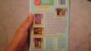 Barneys Super Singing Circus 2000 VHS