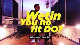 Frank Edwards - Wetin You No Fit Do? (Studio Presentation)