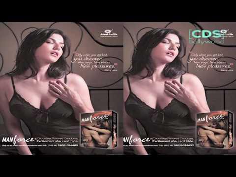 Sunny Leone Banana Condom AD