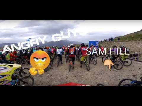 BOOM Angry guys with Ratboy, Sam HILL on the Extrême Megavalanche 2017 RACE MountainBike