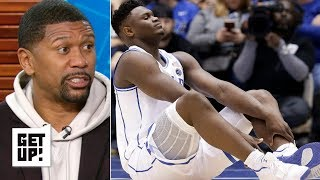 Zion's injury isn't bad enough to shut it down for Duke – Jalen Rose   Get Up!