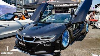 (HD)Y'zOne BMW i8 modified - スーパーカーニバル2017・お台場