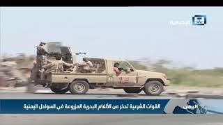 القوات الشرعية تحذر من الألغام البحرية المزروعة في السواحل اليمنية
