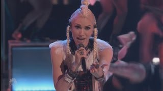 Gwen Stefani Performs New Single 'Misery' and Blake Shelton 'Whispered in Her Ear'