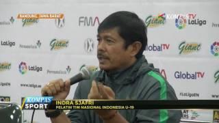 Indra Sjafri: Masih Pembentukan Tim, Wajar Jika Kalah