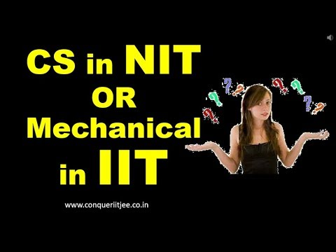 Xxx Mp4 CS In Top NIT Or Mechanical In Top IIT JEE Main Advanced Counselling Tips 3gp Sex