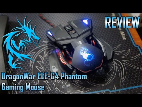 Dragon War ELE-G4 Phantom Gaming Mouse Review | Too Much Gaming