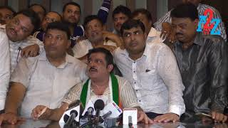 Irfan Pasha Joined Congress in the Presence of B.Z.Zameer Ahmed Khan, Goripalya Constituency, A2Z TV
