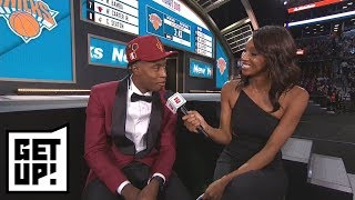 Was it surprising to see Trae Young drafted before Collin Sexton? | Get Up! | ESPN