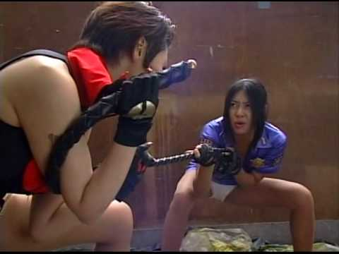 Wild catfight from Japan
