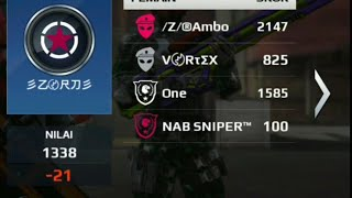 Mc5 sb vs ZORD (izi nabs)