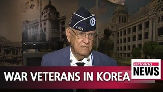 U.S. veterans visiting S. Korea to mark 68th anniversary of Korean War