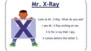Alphafriends: Mr. Xray