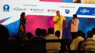 Matthew Hayden chants 'Therika Vidalama' dialogue in front of Madurai crowd