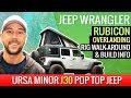 Download Lagu MP3 Jeep Wrangler Rubicon Overlanding Rig Walk-Around & Build Info. Ursa Minor J30 Pop Top Jeep.