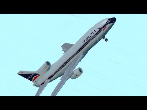 Invisible Killer Delta Air Lines Flight 191 P3D