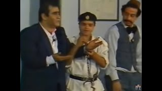 سيد زيان و أحمد راتب ومحمد هنيدي وقمة الإبداع والضحك مشهد القسم على المسرح