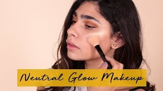 Neutral Glow Makeup - No Foundation With Tracy | مكياج مشرق ناعم دون فاونديشن مع ترايسي