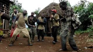 Pygmy dance, Ruhengeri, Rwanda (1)