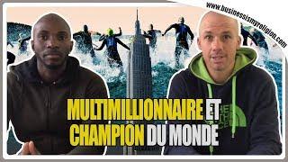 Multimillionnaire et champion du monde