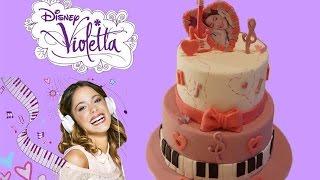 RECETTE GATEAU VIOLETTA | VIOLETTA CAKE  | CAKE DESIGN