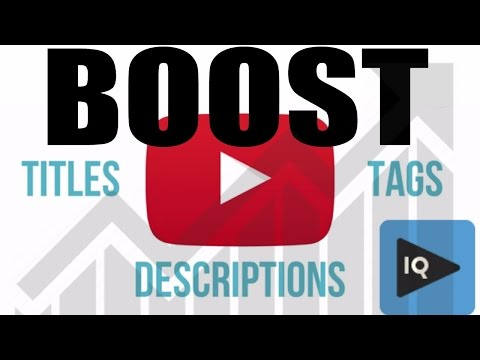 Xxx Mp4 How To Boost Videos On Upload With VidIQ For More Views 3gp Sex