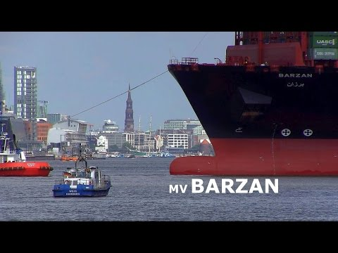Xxx Mp4 MV Quot BARZAN Quot Longest Container Ship Of The World First Visit In Port Of Hamburg 3gp Sex