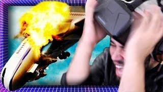 Surviving A Plane Crash In VIRTUAL REALITY! | Oculus Rift DK2 Gameplay
