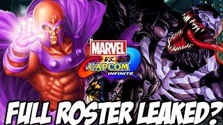 Marvel Vs. Capcom Infinite: Leaked Full Character Roster Real Or Fake? (Marvel Vs Capcom Infinite)