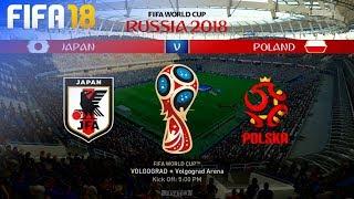 FIFA 18 World Cup - Japan vs. Poland @ Volgograd Arena (Group H)