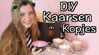 DIY Kaarsen In (Thee)Kopjes