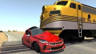 Crash Testing Real Car Mods - Beamng Drive Crashes Compilation