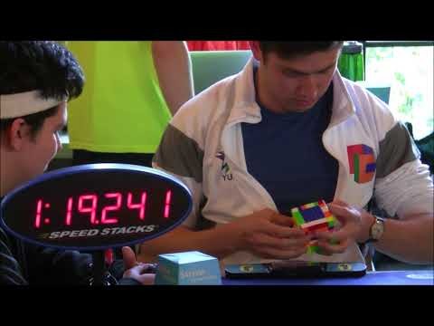 7x7 Rubik's Cube World Record Average: 2:15.07 (Tied)