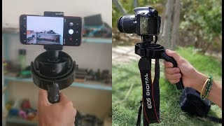 How To Make Camera Gimbal For DSLR Camera And Mobile Phone . At Home