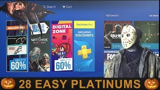 PS4 Halloween & Digital Zone Sale [EU] - 28 Easy Platinum Games - (until 02/11/17)