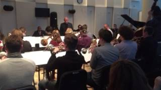 The James Morrison Jazz Orchestra playing Indiana at The Juilliard School New York